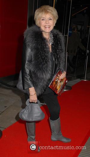 Gloria Hunniford - Gala performance of Matthew Bourne's 'Sleeping Beauty' at Sadler's Wells Theatre at Sadler's Wells Theatre - London,...