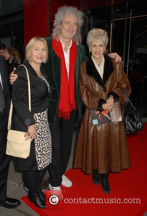 Brian May , Anita Dobson - Gala performance of Matthew Bourne's 'Sleeping Beauty' at Sadler's Wells Theatre at Sadler's Wells...