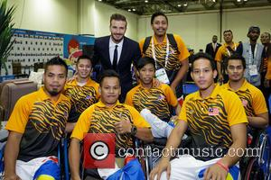 David Beckham, Malaysian Athletes, David Beckham , Malaysian Athletes - International icon David Beckham delighted hundreds of athletes today when...