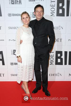 Jason Isaacs , Emma Hewitt - Moet British Independent Film Awards 2015 held at Old Billingsgate Market - Arrivals at...