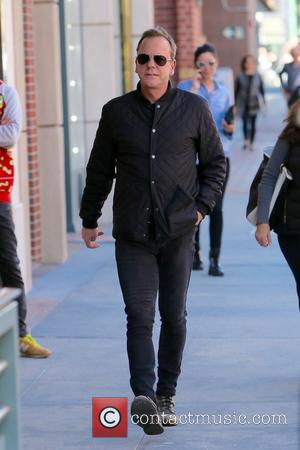 Kiefer Sutherland - Kiefer Sutherland seen going to the doctors in Beverly Hills - Los Angeles, California, United States -...
