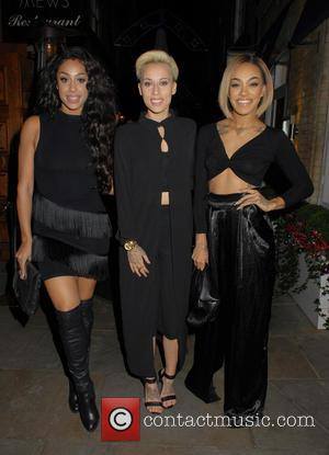 Stooshe - Metro's Guilty Pleasures Christmas Party at Mews of Mayfair - London, United Kingdom - Monday 7th December 2015
