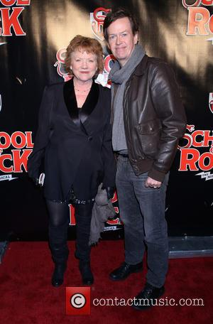 Becky Ann Baker , Dylan Baker - Opening night for Broadway musical School of Rock at the Winter Garden Theatre...
