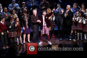 Sierra Boggess, Andrew Lloyd Webber and Alex Brightman