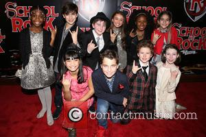 cast - Opening night party for Broadway musical School of Rock at the Hard Rock Cafe - Arrivals. at Hard...