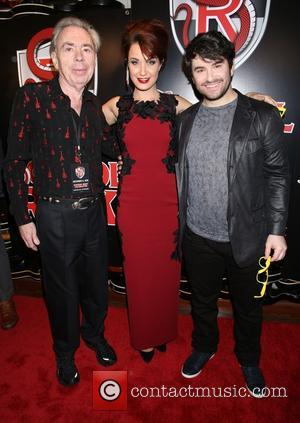 Andrew Lloyd Webber, Sierra Boggess , Alex Brightman - Opening night party for Broadway musical School of Rock at the...
