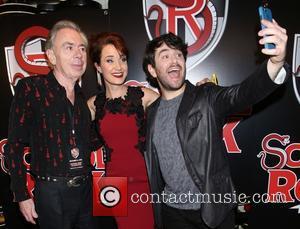 Andrew Lloyd Webber, Sierra Boggess and Alex Brightman