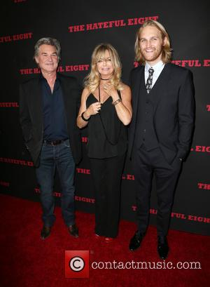 Kurt Russell, Goldie Hawn , Wyatt Russell - Premiere of The Weinstein Company's 'The Hateful Eight' at ArcLight Cinemas Cinerama...