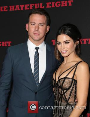 Channing Tatum , Jenna Dewan Tatum - Premiere of The Weinstein Company's 'The Hateful Eight' at ArcLight Cinemas Cinerama Dome...