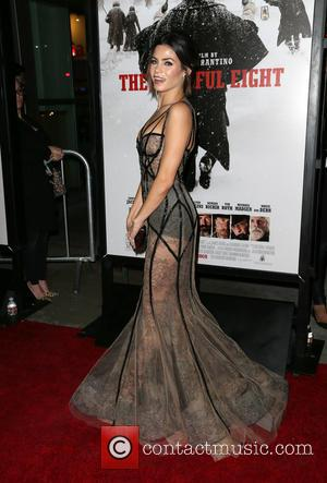 Jenna Dewan Tatum - Premiere of The Weinstein Company's 'The Hateful Eight' at ArcLight Cinemas Cinerama Dome - Red Carpet...