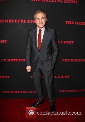 Christoph Waltz - Premiere of The Weinstein Company's 'The Hateful Eight' at ArcLight Cinemas Cinerama Dome - Red Carpet Arrivals...