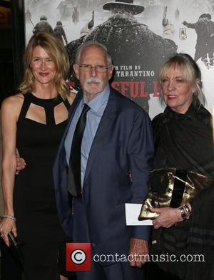 Laura Dern, Bruce Dern , Andrea Beckett - Premiere of The Weinstein Company's 'The Hateful Eight' at ArcLight Cinemas Cinerama...