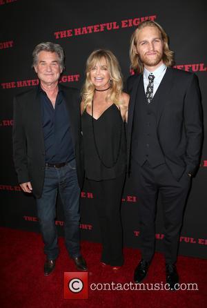 Kurt Russell, Goldie Hawn and Wyatt Russell
