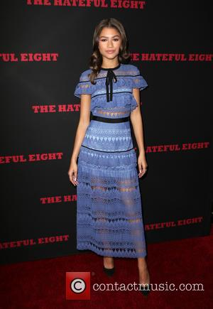 Zendaya - Premiere of The Weinstein Company's 'The Hateful Eight' at ArcLight Cinemas Cinerama Dome - Red Carpet Arrivals at...