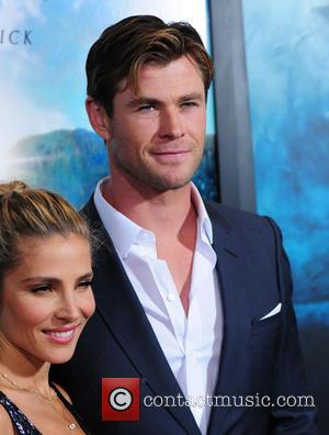Elsa Pataky , Chris Hemsworth - New York premiere of 'In the Heart of the Sea' held at Frederick P....