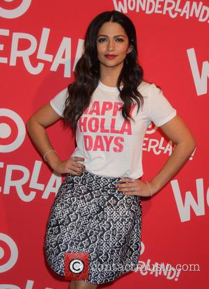 Camila Alves - Launch of Target Wonderland event held in the meatpacking district of Manhattan - Arrivals at Target Wonderland...