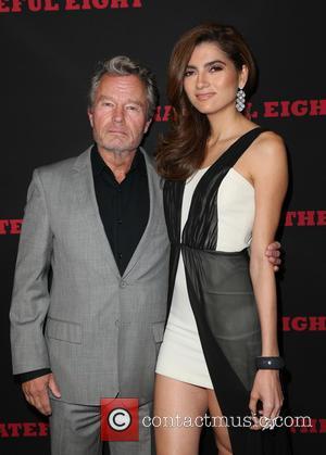 John Savage , Blanca Blanco - Premiere of The Weinstein Company's 'The Hateful Eight' - Arrivals at ArcLight Cinemas Cinerama...