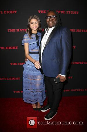 Zendaya Coleman , Kazembe Ajamu Coleman - Premiere of The Weinstein Company's 'The Hateful Eight' - Arrivals at ArcLight Cinemas...