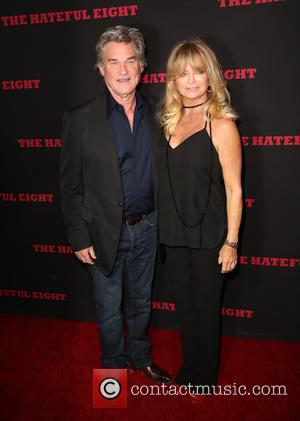 Kurt Russell , Goldie Hawn - Celebrities attend The Hateful Eight premiere at ArcLight Hollywood Cinerama Dome. at ArcLight Hollywood...