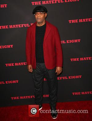 Samuel L. Jackson - Celebrities attend The Hateful Eight premiere at ArcLight Hollywood Cinerama Dome. at ArcLight Hollywood Cinerama Dome...