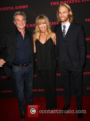 Kurt Russell, Goldie Hawn and Wyatt Russell