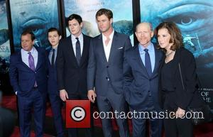 Benjamin Walker, Tom Holland, Chris Hemsworth and Ron Howard