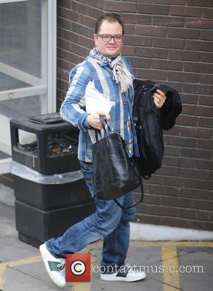 Alan Carr - Alan Carr outside ITV Studios today - London, United Kingdom - Monday 7th December 2015