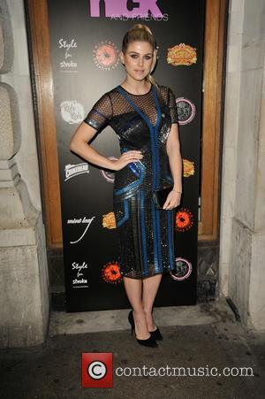 Ashley James - A Night With Nick Ede annual charity fundraiser in aid of The Stroke Association at Rah Rah...