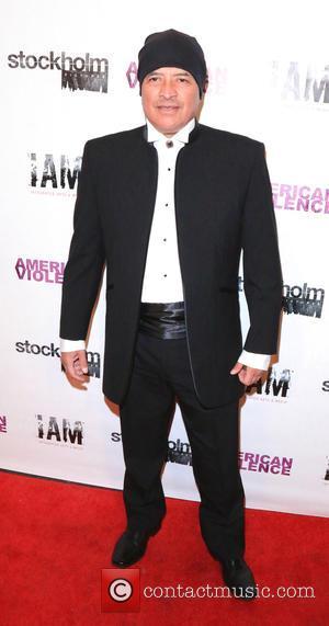 Dave Valentino - LA premiere of 'American Violence' - Arrivals at Harmony Gold Theatre - Los Angeles, California, United States...