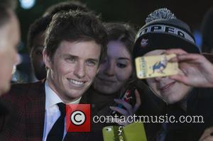 Eddie Redmayne - Celebrities attends the UK Premiere of the Danish Girl at the Odeon Leicester Square in London. at...