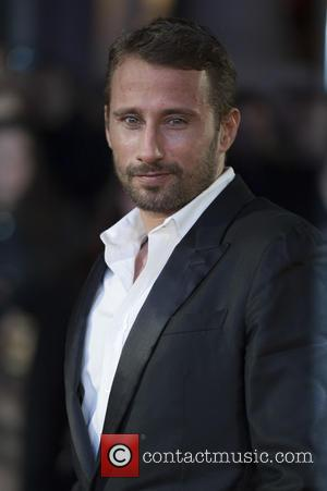 Matthias Schoenaerts - Celebrities attends the UK Premiere of the Danish Girl at the Odeon Leicester Square in London. at...