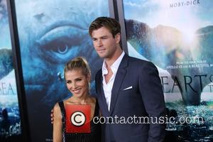 Elsa Pataky , Chris Hemsworth - 'In The Heart Of The Sea' New York premiere at Frederick P. Rose Hall,...