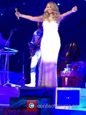 Mariah Carey - Hallmark Channel presents Mariah Carey 'All I Want For Christmas Is You' concert at Beacon Theatre at...