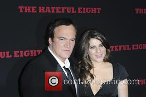 Quentin Tarantino , Courtney Hoffman - 'The Hateful Eight' premiere at ArcLight Hollywood Cinerama Dome - Arrivals - Los Angeles,...
