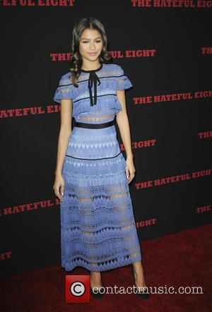 Zendaya - 'The Hateful Eight' premiere at ArcLight Hollywood Cinerama Dome - Arrivals - Los Angeles, California, United States -...