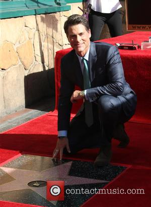 Rob Lowe - Rob Lowe honored with a star on the Hollywood Walk of Fame at On The Hollywood Walk...