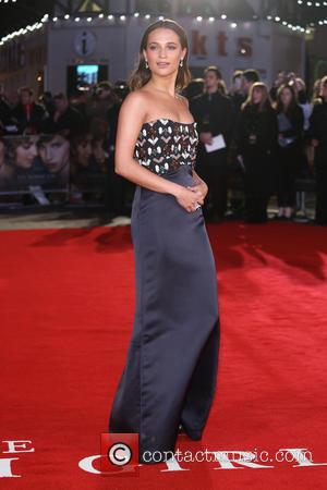Alicia Vikander - The Danish Girl UK premiere - Arrivals - London, United Kingdom - Tuesday 8th December 2015