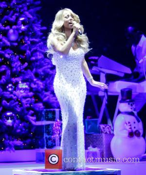 Mariah Carey - Hallmark Channel presents Mariah Carey 'All I Want For Christmas Is You' concert at Beacon Theater -...