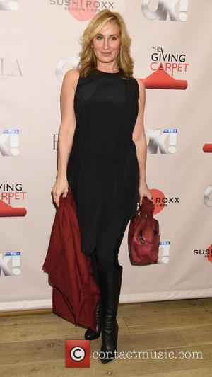 Sonja Morgan - Real Housewives of New York attend a holiday party at Sushi Roxx at Sushi Roxx - New...
