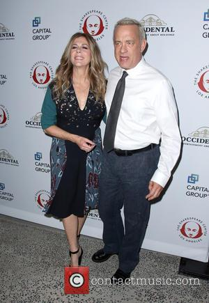Rita Wilson , Tom Hanks - The Shakespeare Center of Los Angeles 25th Annual Simply Shakespeare Benefit at The Broad...