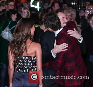 Sebastian Koch, Eddie Redmayne and Alicia Vikander