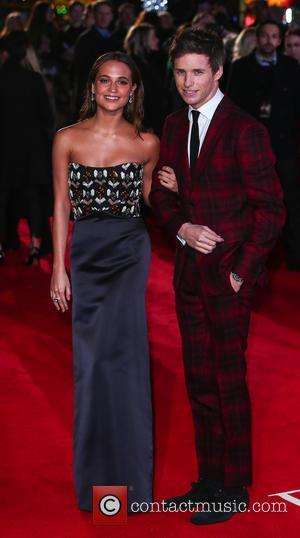 Eddie Redmayne and Alicia Vikander