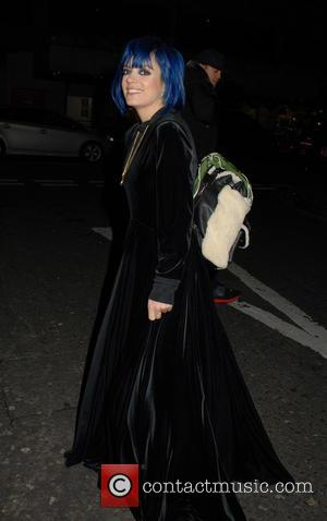 Lily Allen - Urban Decay x Gwen Stefani - VIP dinner at Hotel Chantelle - London, United Kingdom - Tuesday...