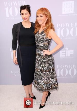 Sarah Silverman and Kathy Griffin