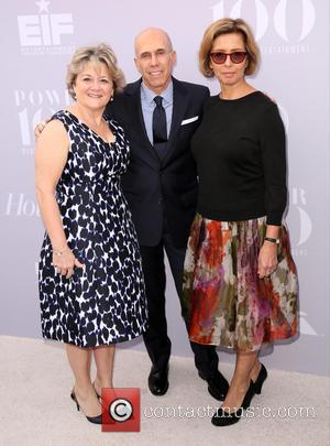 Bonnie Arnold, Jeffrey Katzenberg and Mireille Soria