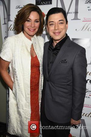 Countess Luann De Lesseps and Malan Breton