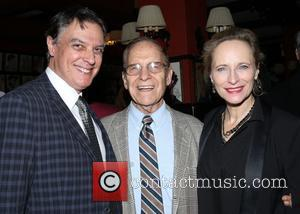 Robert Cuccioli, Jerry Mayer and Laila Robins