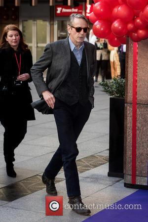 Jeremy Irons - ICAP Charity Day held at One Broadgate - Arrivals. - London, United Kingdom - Wednesday 9th December...