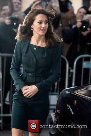 The Duchess of Cambridge - ICAP Charity Day held at One Broadgate - Arrivals. - London, United Kingdom - Wednesday...