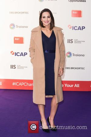 Laura Wright - ICAP Charity Day held at One Broadgate - Arrivals. - London, United Kingdom - Wednesday 9th December...
